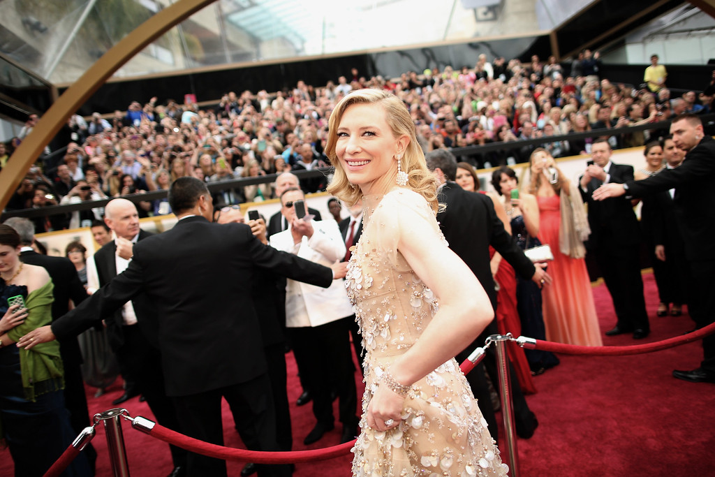 . Actress Cate Blanchett attends the Oscars held at Hollywood & Highland Center on March 2, 2014 in Hollywood, California.  (Photo by Christopher Polk/Getty Images)
