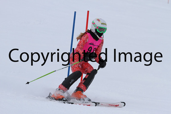 U14-U12-U10 Ladies Slalom 2/10 Run 2