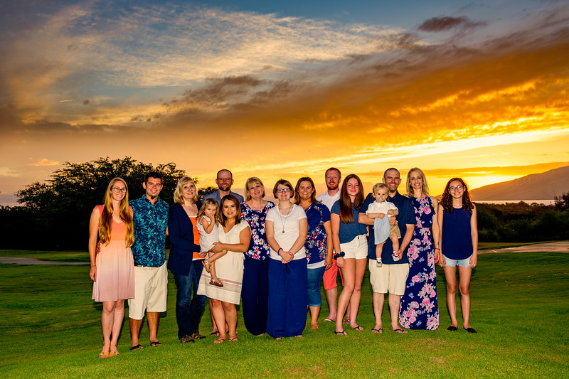 Gabriel Family - Maui Sunset