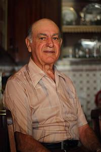 Francisco Xavier Simas (Ribeiras, Pico), born 1929, pictured in his family's home. August 16, 2012.