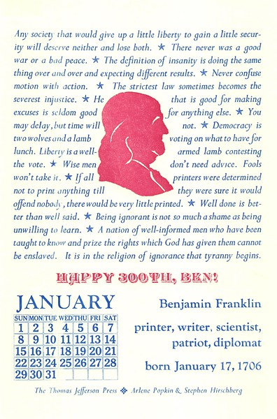 January, 2006, Thomas Jefferson Press