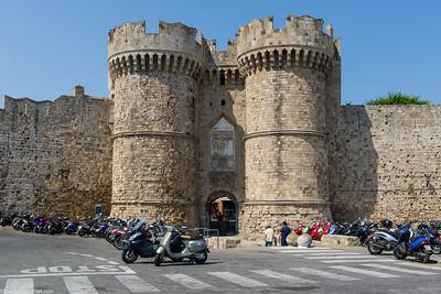 Rhodes, Greece July 2013