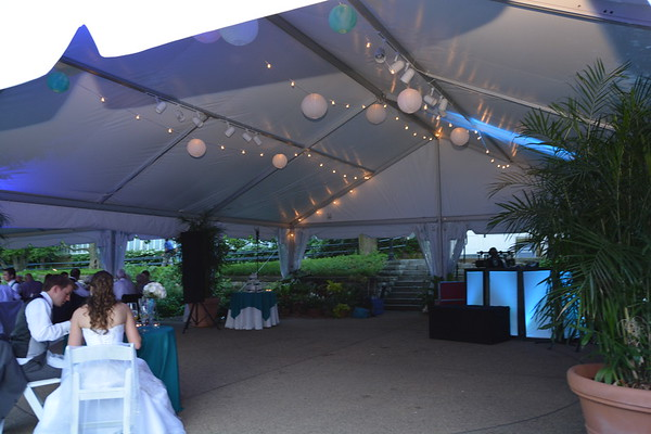 Phipps Conservatory Cafe Lights/Paper Lanterns