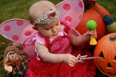 Mackenzie First Halloween