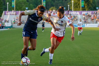 NC Courage v Washington Spirit (12 May 2018)