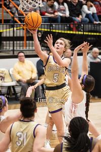Basketball (Girls) vs Kingston at Regionals (Lindsay), February 27