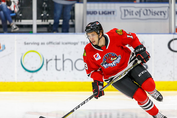 03-30-19 - IceHogs vs. Griffin