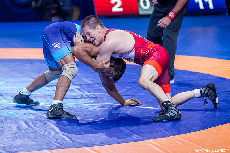 3rd Place Match: Rahul Balasaheb Aware (India) over Tyler Lee Graff (United States)  •  Dec 11-4 - 2019 World Championships