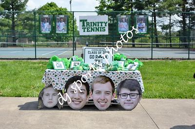 2019-04-30 Trinity Boys Tennis Senior Night