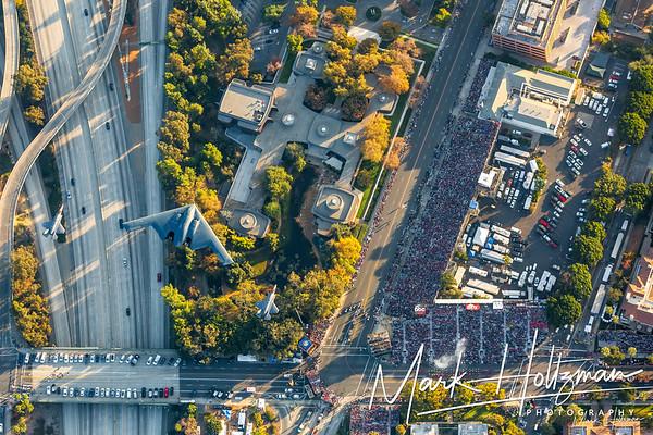 2018 Rose Bowl: University of Georgia vs University of Oklahoma