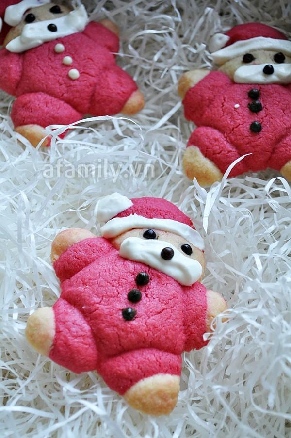làm bánh ngọt giáng sinh 6