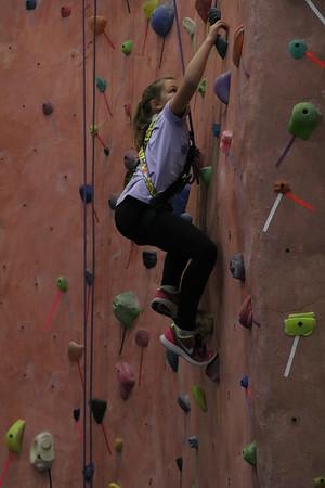 Surge Blast game and Rock climbing