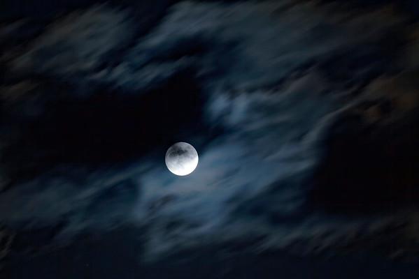 Lune - nuit
