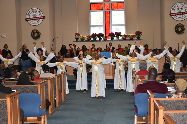 Canaan BCDE Christmas Gift Giving & Steward's Baby Christening 12-15-19