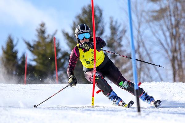 Girls Slalom First Run