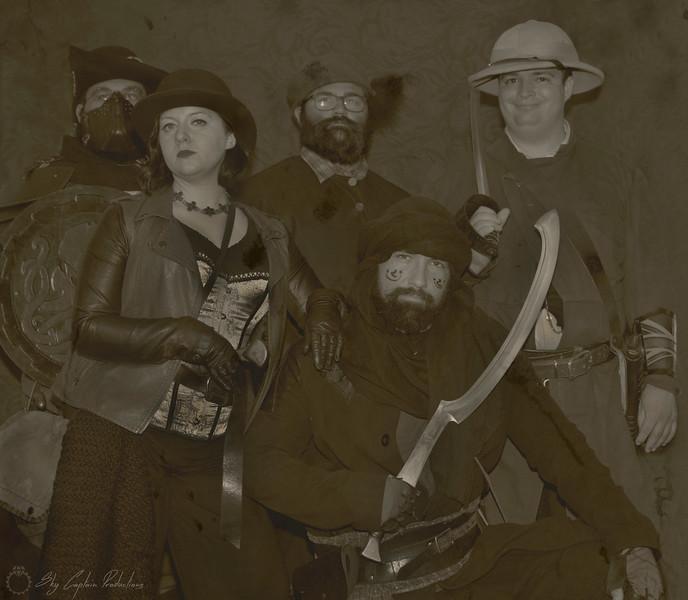 Crew of The Antelope's Revenge