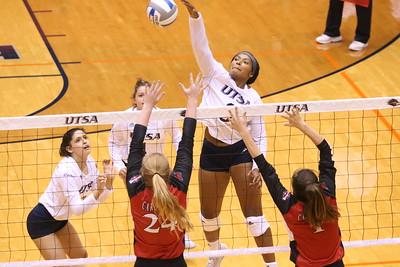 UTSA Volleyball vs Incarnate Word University 2018