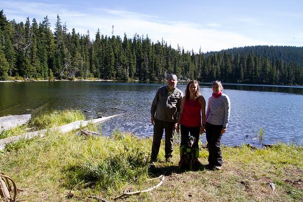 2017-09-24 Cramer Lake Trail 1105, William O. Douglas Wilderness