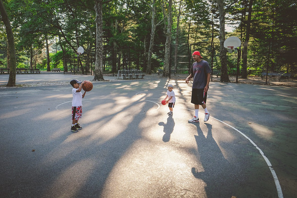 Central Park | Basketball and Swings