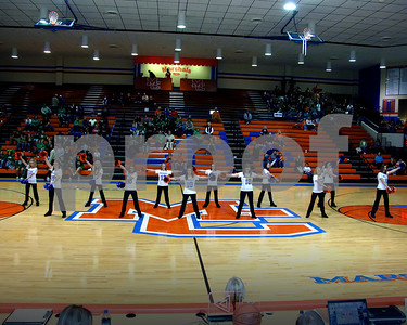 Marshall County Dance Team Performance At Senior Night February 16, 2010.