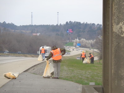 Adopt the highway clean up project