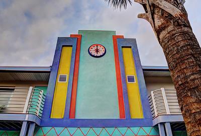 Magic Beach Motel. Vilano Beach, Florida.