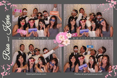 Risa & Kevin's Wedding (LED Open Air Photo Booth)