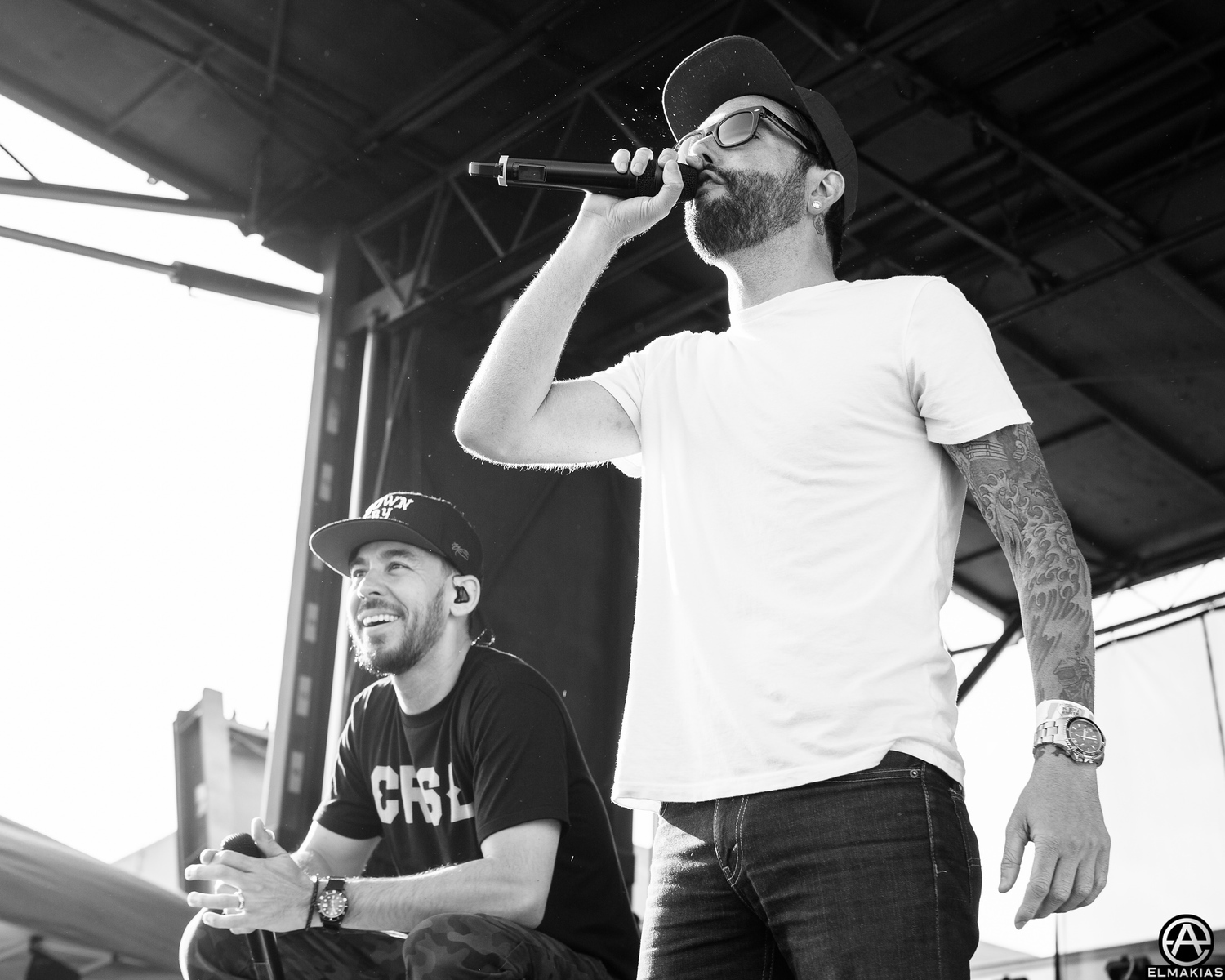 Mike and Jeremy live at Warped Tour