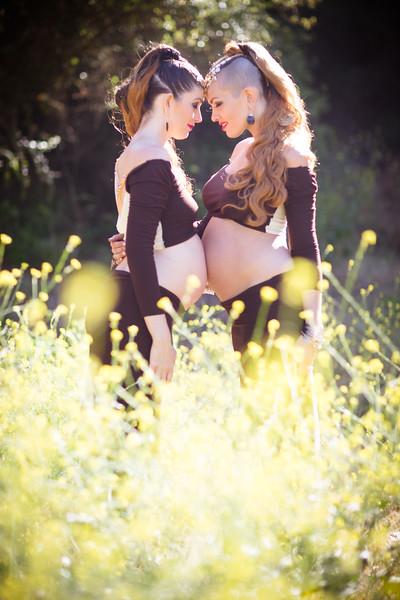 2016-05-24-Viva La Glam Pregnancy Sisters