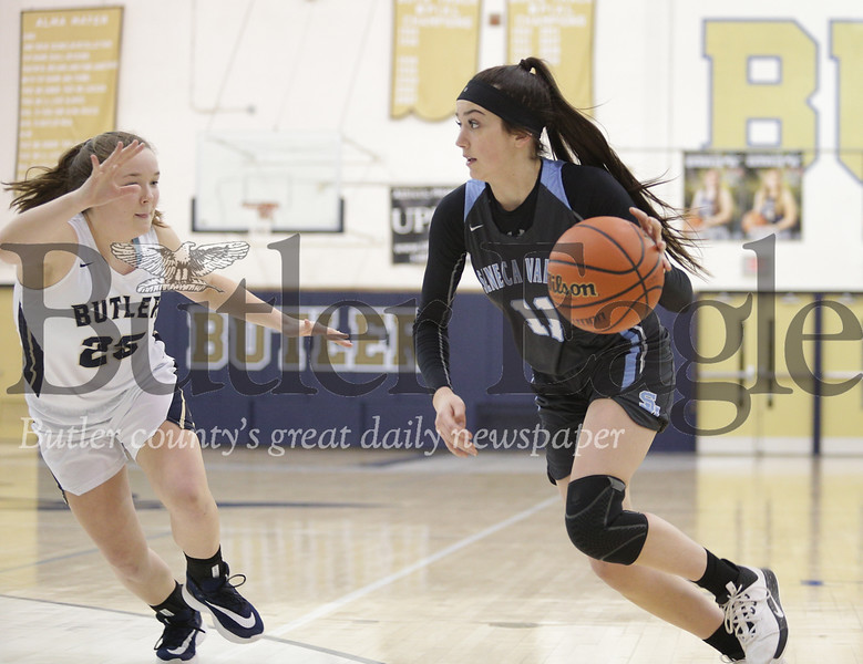 Butler vs Seneca Valley Girls Basketball