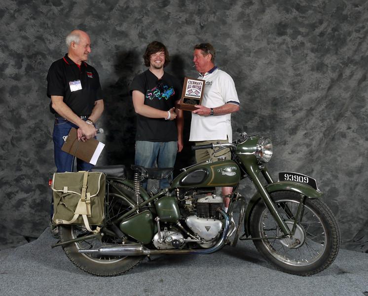 Al Walsh, Military 1900-1983, Production. 1957 Triumph TRW
