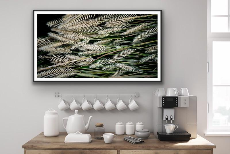 'Grass Art' Fine Art Print Framed/Unframed