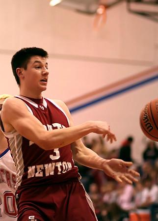 SNHS Boys Basketball vs TC - Sectional 2008