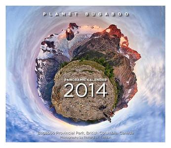 Planet Bugaboo 2014 Panoramic Calendar