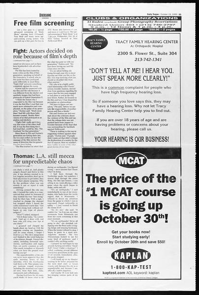 Daily Trojan, Vol. 138, No. 35, October 19, 1999