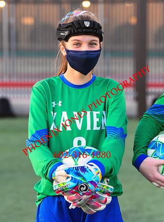 2-8-2021 - Xavier College Prep v Hamilton - Girls Soccer
