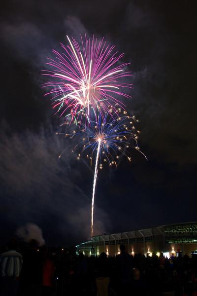 Gates Bicentennial Fireworks - June 29, 2013