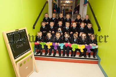 New Primary 1 Class at St Malachy's PS Cranagat. Pictured are Miss McCartan's Class. R1539012