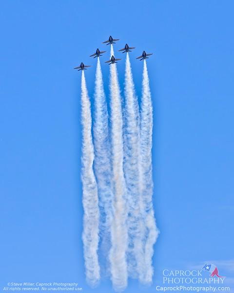 Blue Angels Flyover Salute -  Dallas Texas