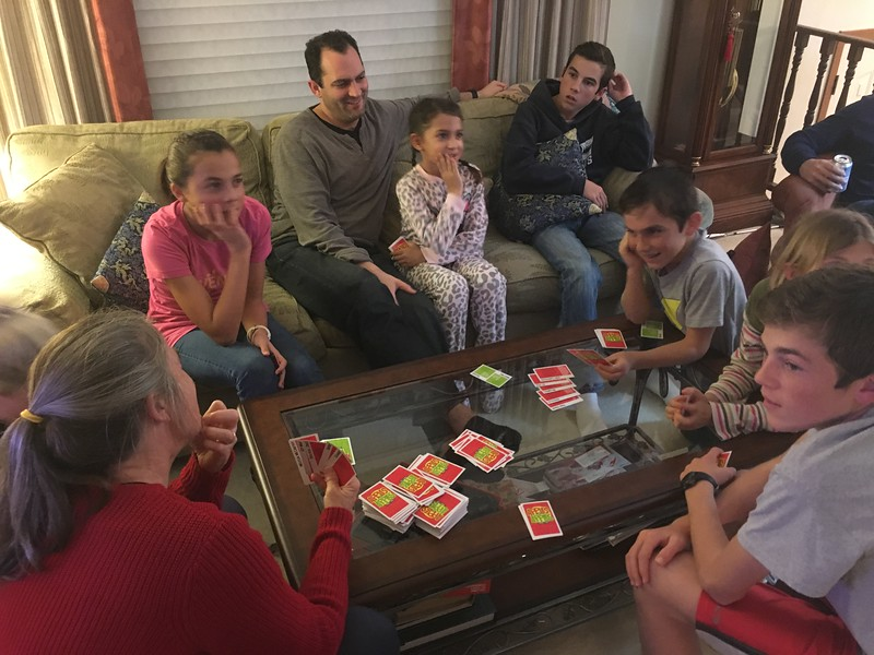 """""""Apples to Apples"""" game."""