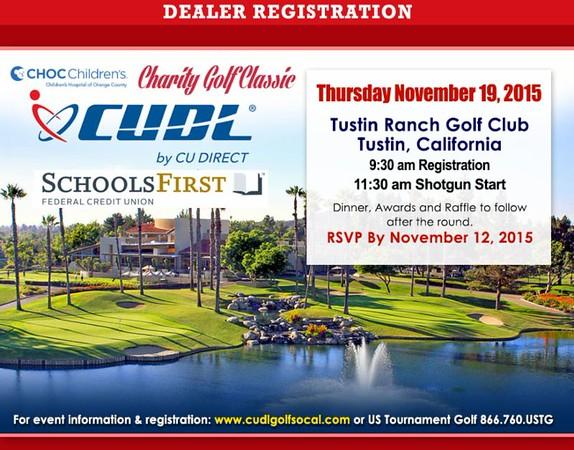 2015 CU Direct SoCal Golf Classic presented by Schools First FCU