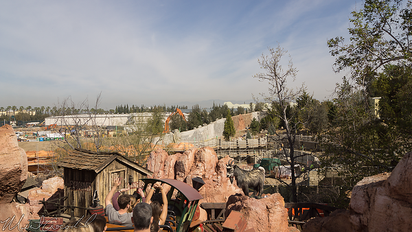Disneyland Resort, Disneyland, Big Thunder Mountain Railroad, Big Thunder, Star Wars Land, Star Wars, Frontierland, Trail, Jamboree