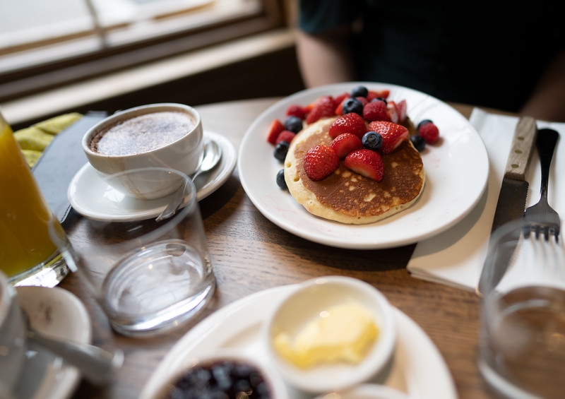 Breakfast at The Old Bank Hotel, Oxford