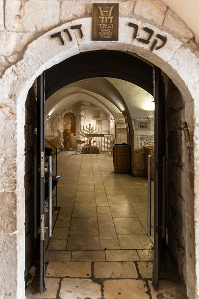 Entrance to the Tomb of David