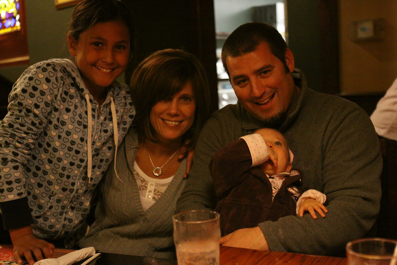 Alyssa, Aunt Kim and Uncle Rick and Brooke
