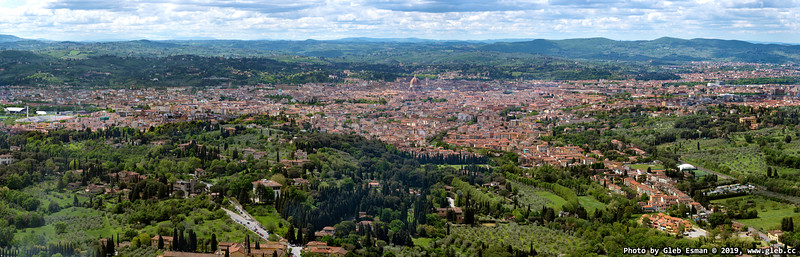Florence. View from Fiesole