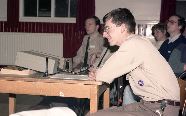 1991-10-25 Queen's Scout Presentation