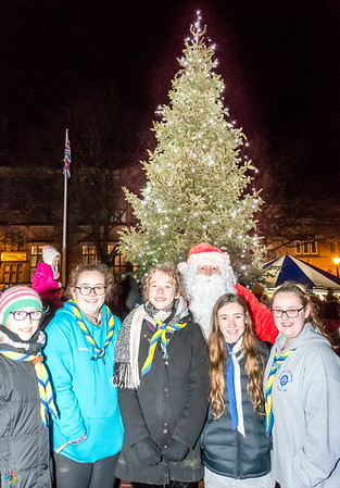 Glossop Christmas Lights and Market 2017
