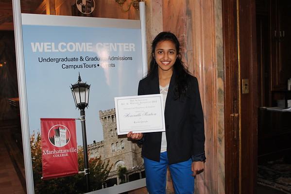 Rachel's scholastic writing award