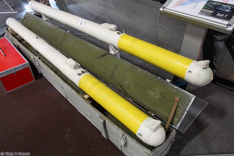 ПТУР Вихрь в ТПК (9K121 Vikhr ATGM)